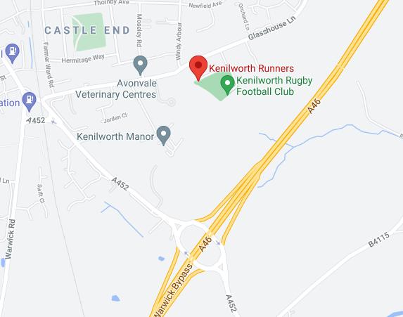 Kenilworth Runners Map